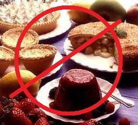 avoid dessert, avoid sweet dish