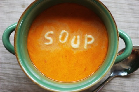 avoid calorie food have some soup before eating